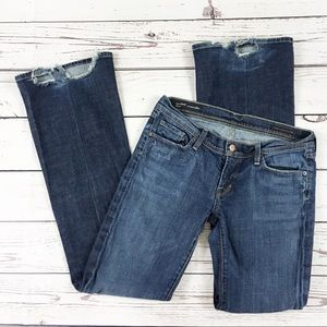 Citizens of Humanity Ingrid jeans 29 distressed